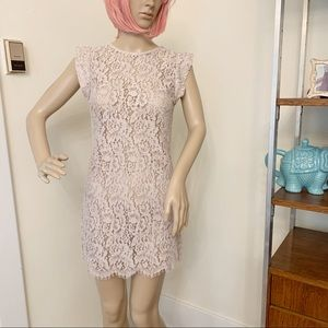 Lover the Label Blush Lace Dress 4